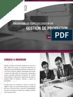 Brochure Gestión de Proyectos