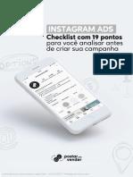 E-book Postar Pra Vender - Checklist