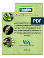 EIA Petroamazonas Esia Ishpingo Norte 2017