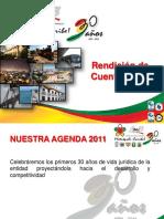 Rendicion de Cuentas 2011