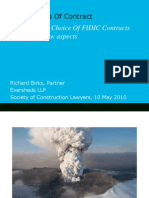 FIDIC and Qatar law - SCL CPD event