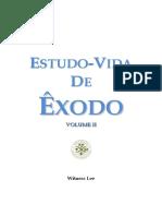 Estudo-Vida Êxodo Volume II Witness Lee