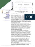 La Psicología Científica - ARP-SAPC