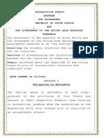 UAE Extradition Treaty