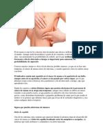 Detectar y Manejo Del Cancer de Mama