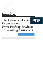 The Customer Centric Organization