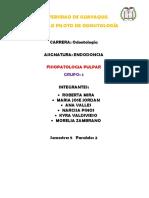 Fisiopatologia de La Inflamaion Pulpar