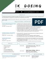 dd resume 2019