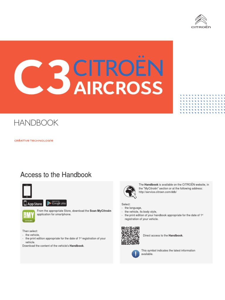 Citroen Aircross Handbook | Automatic Transmission | Anti Lock Braking  System
