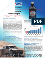 Dominator 15W-50 Racing Oil