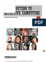 1 - Introduction to Affective Computing