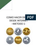 Como Hacer Dinero Desde Internet