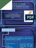 Signos Vitales Pulso y Temperatura Jey