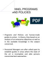Personnel Programs and Policies-ba2