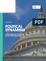 Political Dynamism. A New Approach to Making Government Work Again (by Lee Drutman, 2015)