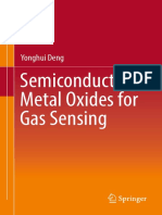 Semiconduction metals oxide sensiting