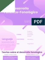 Desarrollo Fonetico-Fonológico