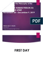 Lesson 3 ~ The Human Person as an Embodied Spirit_Day 1-4.pptx