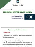 Epidemiologia - Fabio - Aula 4