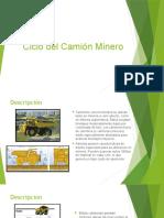 Ciclo Del Camión Minero