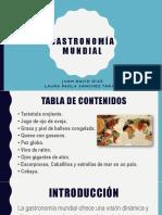 Promover - Gastronomía mundial