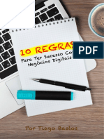 10 Regras Para Ter Sucesso Com Negócios Digitais