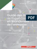 Guide Des Missions de l'Expert Comptable