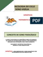 Aula - HIPNÓTICOS