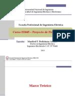 EE445 - Clase 3T2 - Marco Teórico 2019-II