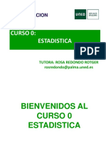 CURSO ESTADISTICA