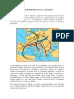 Analisis Geopolitico en La Edad Media
