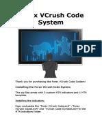 Forex VCrush Code Manual