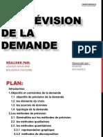 La Prévision de La Demande.