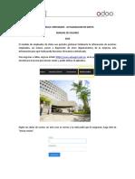 Manual de Usuario Odoo-Actualizacion de Datos