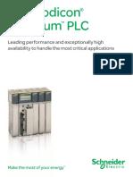 Modicon Quantum PLC Brochure