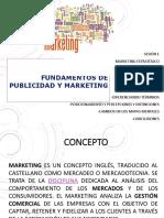 PPT SESION 1 Marketing