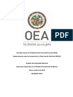 0.1 Informe Final - Analisis de Integridad Electoral Bolivia 2019 (OSG)