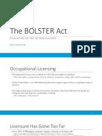 bolster act presentation