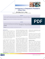 Praktis-The Role of Echocardiogram in Outpatient Paediatric Chest Pain