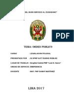 Orden Publico 1