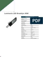 Luminaria LED Brooklyn 40W
