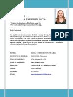 Hoja de Vida Sandra Bustamante