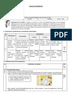 Sesión de Aprendizaje SALIDA - PASEO- Publicado
