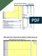 Gleim CMA Offline Study Planner 20151