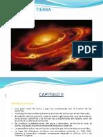 CAP. II.- Orige de La Tierra