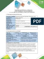 Guía de Actividades y Rúbrica de Evaluación - Paso 5. Sustentación Alternativas PML
