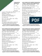 Maths Chapter 3 Test