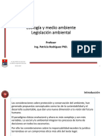 Legislacion y Licencia Ambiental