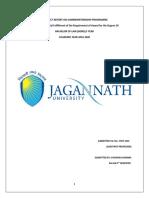 A Project Report on Summerinternship Programme