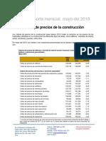 Aneconomipcons052019-01 Indice Precios Construcc May19
